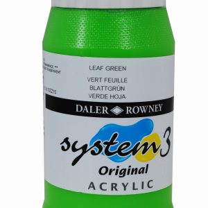 System 3 Original Acrylic Colour 500ml Leaf Green