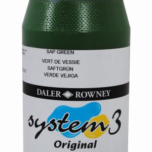 System 3 Original Acrylic Colour 500ml Sap Green