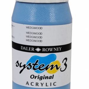 System 3 Original Acrylic Colour 500ml Wedgwood