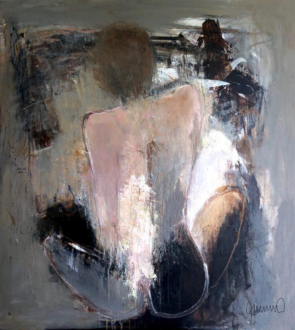 Kunstværk 110 x 100 cm