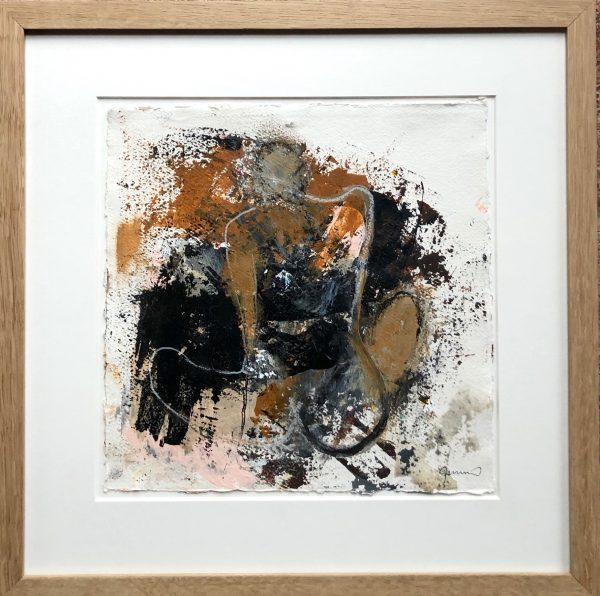 Kunstværk 46 x 46 cm