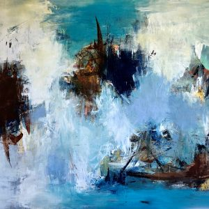 Kunstværk 120 x 150 cm