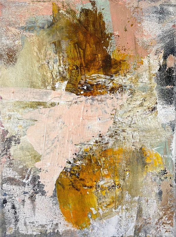 Maleri 18 x 24 x 3,5 cm