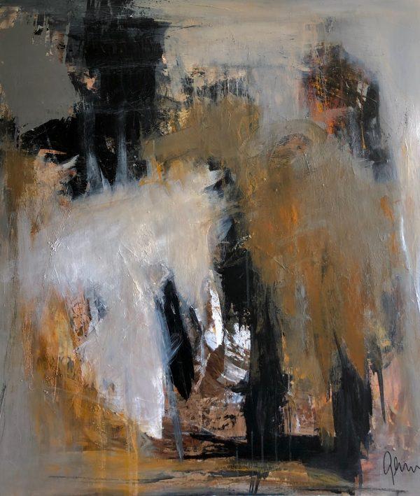 Maleri 110 x 100 cm