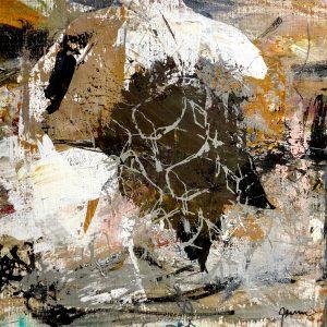 Kunstværk 40 x 40 cm