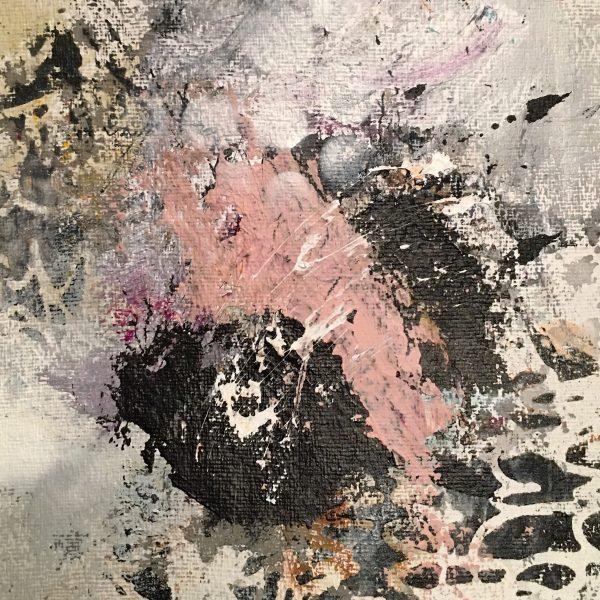 Kunstværk 25 x 25 cm