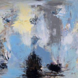 Kunstværk 150 x 120 cm