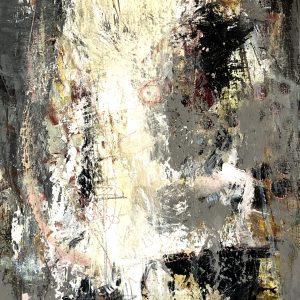 Kunstværk 25 x 50 cm (4 cm dybde)