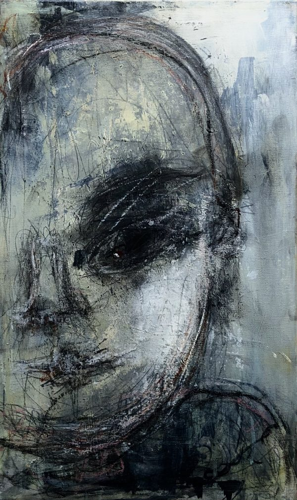 Kunstværk 25 x 50 x 4 cm