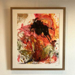 Kunstværk 62 x 71 cm