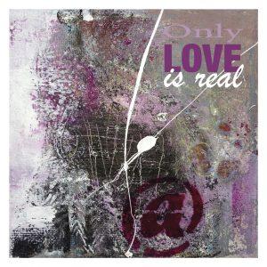 Kunstkort - Only love