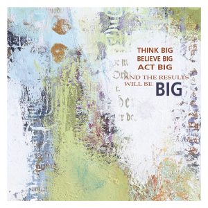 Kunstkort - Think Big