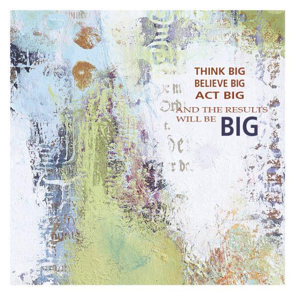 Kunstkort - Think Big